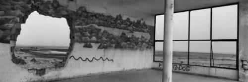 Kalia Junction, Dead Sea area, Crusader map mural © Josef Koudelka/Magnum Photos